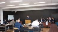 平成29年4月24日(月)つくみまぐろ研究会の通常総会を開催しました。 議案審議の後、大分県商工労働部より「大分県の施策・補助金について」お話をしていただきました。
